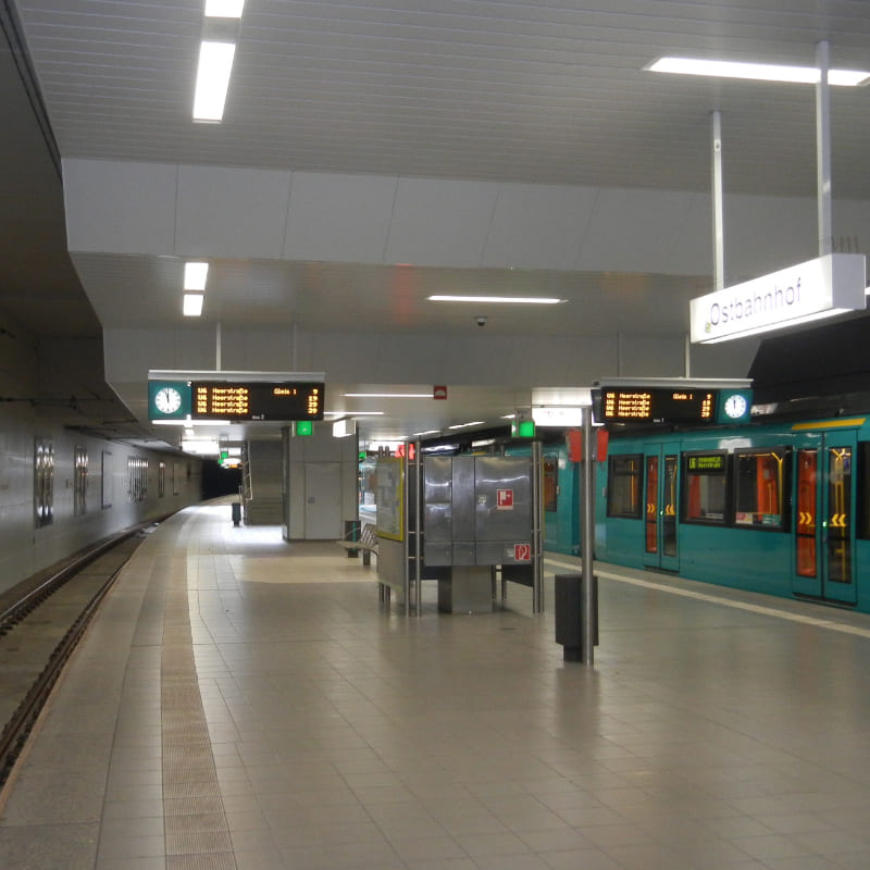 U-Bahn Station Frankfurt am Main